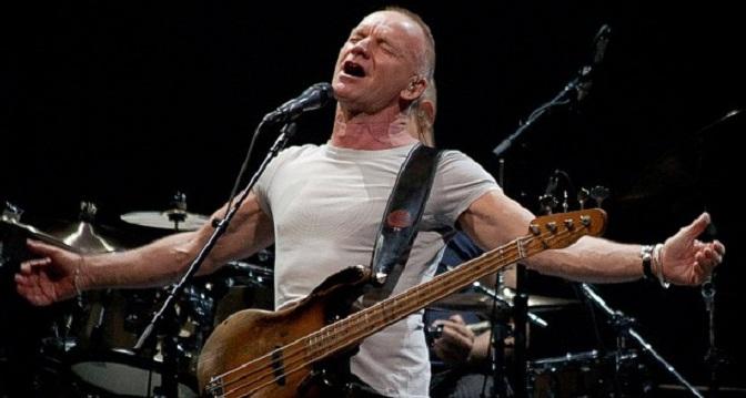 Sting, músico solidario