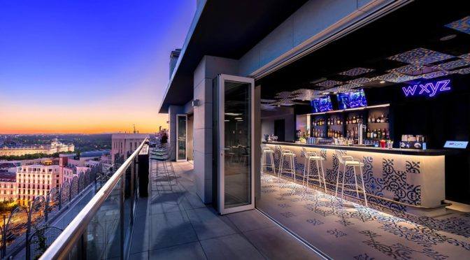 Rooftop WXYZ Aloft Madrid